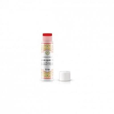 Восстанавливающий бальзам для губ с маслом виноградных косточек и охрой